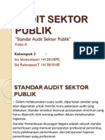 Ppt Audit Sektor Publik