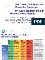 2 ACC Prevention Antiplatelet and Anticoagulant