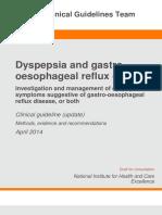 Dyspepsia CPG (NICE)