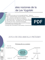 Principales Nociones de La Teoría de Lev Vygotski II
