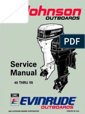 Johnson 737 Part Catalog   Ignition System   Carburetor