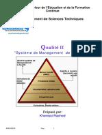 Cours Qualité Système de Management de La Qualité