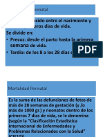 Mortalidad Neonatal - Mercedes