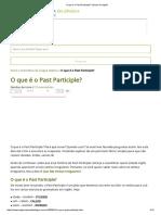 O Que é o Past Participle_ _ Dicas de Inglês