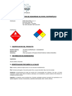 5. MSDS Alcohol Isopropilico