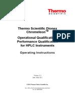 HPLC OQ PQ OperatingInstructions