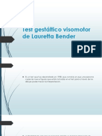 Test Gestáltico Visomotor de Lauretta Bender