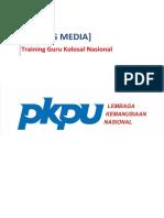 Kliping Media - Training Guru Kolosal Nasional