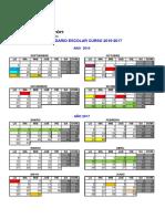 Calendario Escolar 2016_17 Portal de Educación