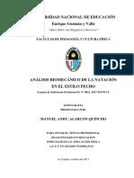 Monografia Biomecanica de Estilo Pecho Presentado Oct 2017 Okey (Corregida )