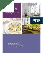 Marketing Assignement 1