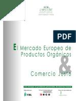 Mercado Europeo productos Organicos Comercio Justo