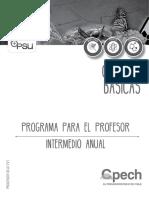 Programa Intermedio Anual Cb 2017