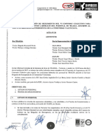 Acta 26 Comisión de Seguimiento VI Convenio Colectivo