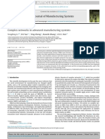 Complex Networks in Advanced Manufacturing Systems