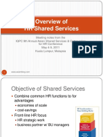 Overview of Hr Shared Services