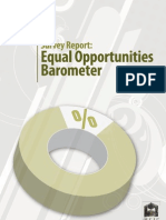 Barometer for Equal Opportunities
