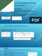 Formulas Hidraulicas Gerenciar Diseño de Puentes (1)