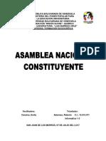 Asamblea Nacional Constituyente 2017