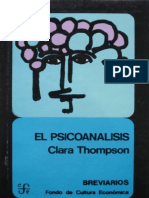 El psicoanálisis [Clara Thompson]