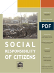 Social Responsibility of Citizens - 2009