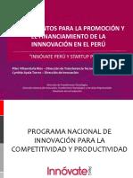 Innovate Peru y Startup Peru