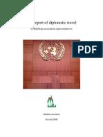 The report of diplomatic travel of Habilian association representatives