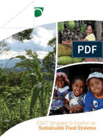 Sustainable Food Systems Ciat Strategy Document