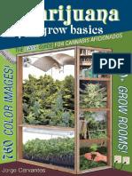 Marijuana Grow Basics - Jorge Cervantes