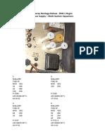 DSO PSU Capacitors