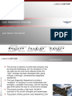 Lean Assessment Overview Brief