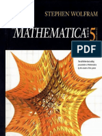 [Mathematica] The Mathematica® Book 5th ed - Stephen Wolfram (2003)