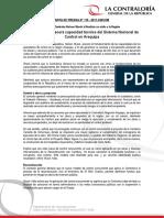 Contraloría fortalecerá capacidad técnica del Sistema Nacional de Control en Arequipa