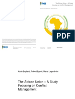 The African Union_Focusing on Conflict Management