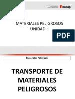 Transporte materiales peligrosos