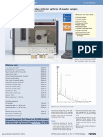 Diffractometric Debye-Scherrer Patterns of Powder Samples