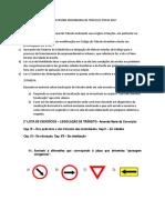 Lista Das Tarefas Da Disciplina Engenharia de Tráfego 2ºsem 2017