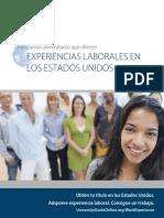 2016 ELS Work Experience Brochure Spanish