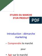 Etude Et Recherche Du March Excellent