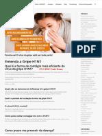 Entenda a Gripe h1n1