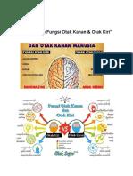 Artikel Perbedaan Fungsi Otak Kanan