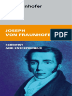 Joseph Von Fraunhofer Scientist and Entrepreneur