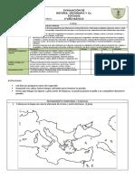 Evaluación Nivel de Geografia