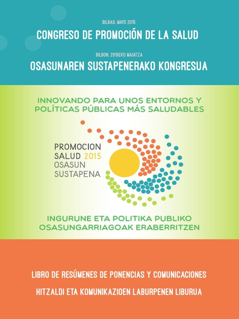 Congreso de PS. Libro de Resumenes