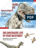 Melvin Berger, Gilda Berger-Scholastic Q & A_ Did Dinosaurs Live in Your Backyard_ (Scholastic Question & Answer) (1999)
