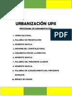 URBANIZACIÓN UPIS