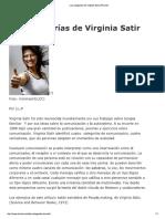 Las Categorías de Virginia Satir