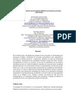 La Plataforma virtual como herramienta didáctica
