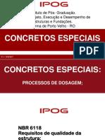 CONCRETOS ESPECIAIS - IPOG