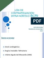 Balon de Contrapulsacion Intra-Aortico